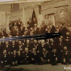 Fotografía antigua: SEMANA SANTA ALCALÁ DE GUADAÍRA DE LA ADORACIÓN NOCTURNA ESPAÑOLA 1902 ?? FOTO COMPANY (17). Lote 82352188