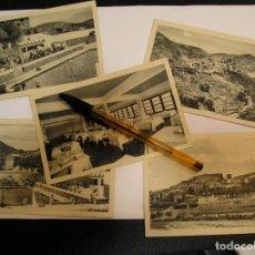 Fotografía antigua: TARJETA POSTAL BEJIS PANORAMICA Y CASTILLO HOTEL LOS CLOTICOS LOTE DE 5 POSTALES (17). Lote 104236242