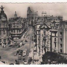 Fotografía antigua: ANTIGUA TARJETA POSTAL CIRCULADA DE MADRID EN EL AÑO 1956. Lote 83912028