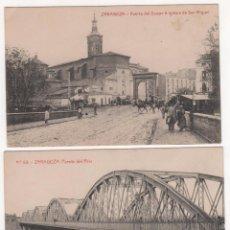Fotografía antigua: LOTE DE 9 TARJETAS POSTALES FOTOGRÁFICAS DE ZARAGOZA. VER FOTOGRAFÍAS. Lote 83912408
