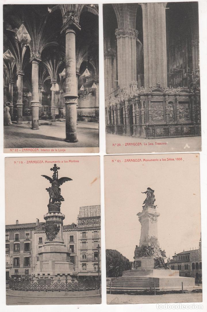 Fotografía antigua: Lote de 9 Tarjetas Postales fotográficas de Zaragoza. Ver fotografías - Foto 3 - 83912408
