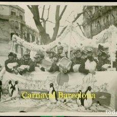 Fotografía antigua: CARNAVAL BARCELONA - POSTAL FOTOGRÁFICA . Lote 84491828