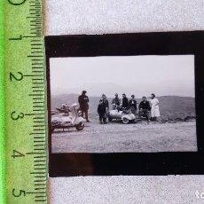 Fotografía antigua: PEQUEÑA FOTOGRAFIA - FOTO VESPA AÑOS 50. Lote 86504388