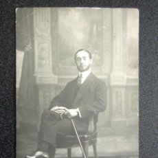 Fotografía antigua: ANTIGUA FOTOGRAFÍA NAPOLEÓN, FOTÓGRAFO MADRID. AÑO 1912. REVERSO TARJETA POSTAL. . Lote 87405156