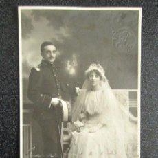 Fotografía antigua: ANTIGUA FOTOGRAFÍA. FOTÓGRAFO TRUCHAUD Y CANO. MADRID, AÑO 1918. REVERSO TARJETA POSTAL. . Lote 87407620