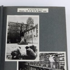 Fotografía antigua: 2 FOTOGRAFIAS DE SALAMANCA, BIBLIOTECA UNIVERDAD, MIDEN 13 X 9,2 CMS. FECHADAS EN MAYO DE 1959 CON M. Lote 87486268