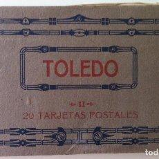 Fotografía antigua: TOLEDO II. 20 TARJETAS POSTALES. FOTOTIPIA DE HAUSER Y MENET. Lote 89270332