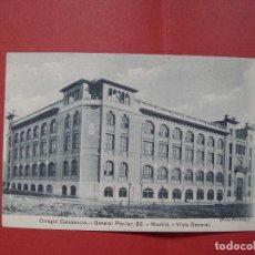 Fotografía antigua: TARJETA POSTAL (1930'S) MADRID. COLEGIO CALASANCIO (PORTILLO) ¡SIN CIRCULAR! ¡ORIGINAL!. Lote 90053640
