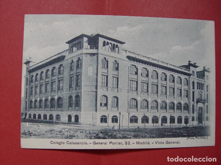 Fotografía antigua: Tarjeta postal (1930's) MADRID. Colegio Calasancio (Portillo) ¡Sin circular! ¡Original! - Foto 3 - 90053640