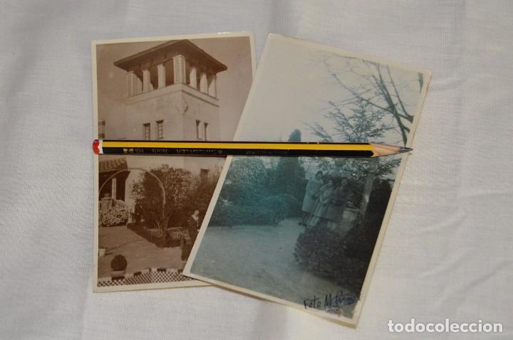 LOTE DE 2 FOTOGRAFÍAS POSTALES ANTIGUAS - SIN CIRCULAR - RONDA - MÁLAGA - AÑOS 30 - HAZME UNA OFERTA (Fotografía Antigua - Tarjeta Postal)