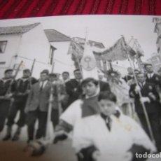 Fotografía antigua: FOTOGRAFIA DE PROCESIÓN DEL CORPUS.FOTO QUIRÓS.MARÍN PONTEVEDRA.. Lote 91282785