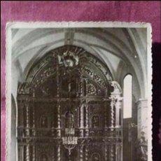 Fotografía antigua: LEIJA. ALTAR MAYOR, BARROCO DEL SIGLO XVIII. Lote 91506005