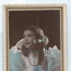 Fotografía antigua: NIÑA, CARNAVAL. 4 MAR. 1935. FOTOGRAFÍA MATRÁN. CARTAGENA Y ÁGUILAS, MURCIA.. Lote 91630080