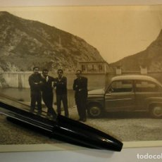 Fotografía antigua: 1 ANTIGUA FOTO FOTOGRAFIA COCHE SEAT 600 AÑOS 70 (17). Lote 91638280