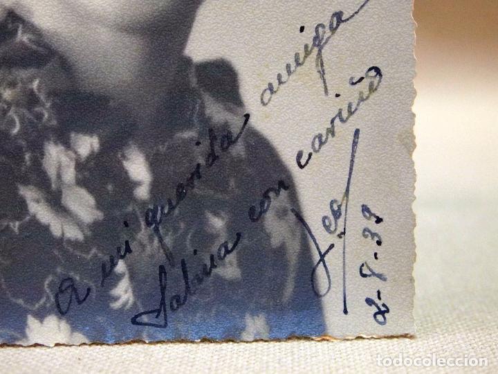 Fotografía antigua: FOTOGRAFIA ANTIGUA, TARJETA POSTAL, RETRATO DE MUJER, 1939 - Foto 3 - 91638990
