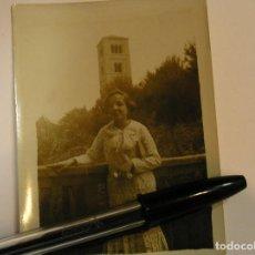 Fotografía antigua: ANTIGUA FOTO FOTOGRAFIA PUEBLO ESPAÑOL - BARCELONA 1934 (17). Lote 92868505