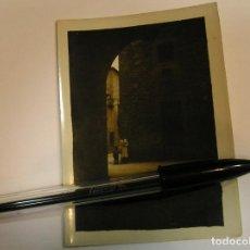 Fotografía antigua: ANTIGUA FOTO FOTOGRAFIA PUEBLO ESPAÑOL - BARCELONA 1934 (17). Lote 92868600