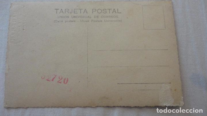 Fotografía antigua: ANTIGUA FOTO POSTAL.CHICA CON MANTILLA.FOTO GRANZMAN.SEVILLA.AÑOS 40? - Foto 4 - 92948885