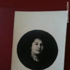 Fotografía antigua: MUJER,TARJETA POSTAL-UNION UNIVERSAL DE CORREOS. Lote 93162635