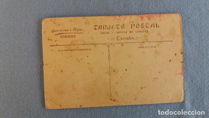 Fotografía antigua: ANTIGUA TARJETA POSTAL UNION UNIVERSAL DE CORREOS SIN CIRCULAR GARRORENA E HIJOS BADAJOZ ORIGINAL - Foto 2 - 94313370