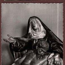 Fotografía antigua: POSTAL FOTOGRÁFICA LA PIEDAD, DE GREGORIO FERNÁNDEZ. VALLADOLID. MUSEO N. DE ESCULTURA. NO CIRCULADA. Lote 94529638