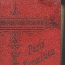 Fotografía antigua: BLOC DE 20 VISTAS EXPOSITION PARIS 1900 EN CARTÓN. Lote 94815667
