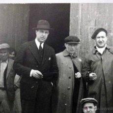 Fotografía antigua: ANTIGUA FOTOGRAFIA, TARJETA POSTAL, GRUPAL, DE ALBUM, GODELLA, VALENCIA, 1930S. Lote 95697759