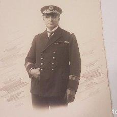 Fotografía antigua: FOTO POSTAL DE MILITAR MARINA (CIRCA 1910). Lote 95820819