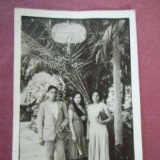 Fotografía antigua: VALENCIA.JARDINES DEL REAL, AÑOS 20, FOTOPOSTAL.. Lote 95841459