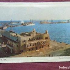 Fotografía antigua: ALICANTE.POSTAL PUBLICITARIA CHOCOLATES SAMALLI, AÑOS 50-60.. Lote 95842191