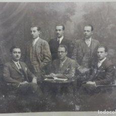 Fotografía antigua: FOTOGRAFÍA ANTIGUA DIRECTORES DE EXPLOTACIONES AGROPECUARIAS 1927-1928 BARCELONA GUISSONA. Lote 96036591