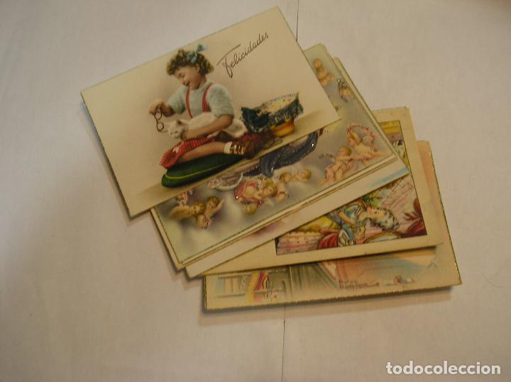 TARJETA POSTAL LOTE DE 10 POSTALES AÑOS 50 -70 CIRCULADAS FOTOS DE TODAS LAS POSTALES (17) (Fotografía Antigua - Tarjeta Postal)
