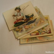 Fotografía antigua: TARJETA POSTAL LOTE DE 10 POSTALES AÑOS 50 -70 CIRCULADAS FOTOS DE TODAS LAS POSTALES (17). Lote 96137487