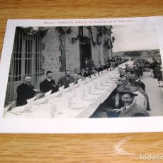 Fotografía antigua: NO POSTAL - TARJETA - PRIMERA JORNADA SOCIAL EN VALENCIA (12 DE JUNIO DE 1910). Lote 96403595