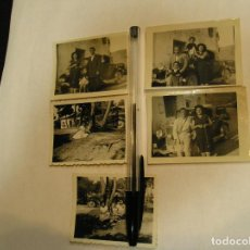 Fotografía antigua: ANTIGUA FOTO FOTOGRAFIA COCHES ANTIGUOS LOTE DE 5 FOTOS (17). Lote 96772771