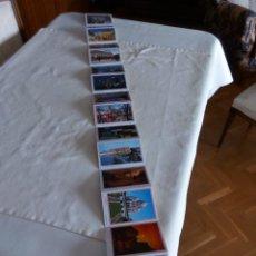Fotografía antigua: TIRA DE 18 POSTALES PARÍS ( NOTRE DAME, LOUVRE, TORRE EIFFEL, ETC.). Lote 96958639