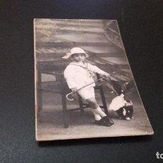 Fotografía antigua: ANTIQUISIMA FOTOGRAFÍA POSTAL - NIÑO- ( PEDIDO MÍNIMO 5 EUROS). Lote 97479911