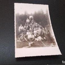 Fotografía antigua: ANTIQUISIMA FOTOGRAFÍA POSTAL - GRUPO DE AMIGOS - ( PEDIDO MÍNIMO 5 EUROS). Lote 97479963