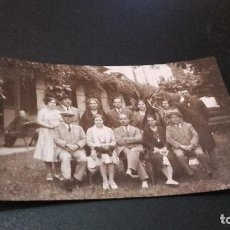 Fotografía antigua: ANTIQUISIMA FOTOGRAFÍA POSTAL - FAMILIA - ( PEDIDO MÍNIMO 5 EUROS). Lote 97479971