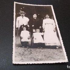 Fotografía antigua: ANTIQUISIMA FOTOGRAFÍA POSTAL - FAMILIA - ( PEDIDO MÍNIMO 5 EUROS). Lote 97480027