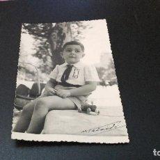 Fotografía antigua: ANTIQUISIMA FOTOGRAFÍA POSTAL - NIÑO - ( PEDIDO MÍNIMO 5 EUROS). Lote 97480067