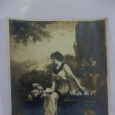 Fotografía antigua: PRECIOSA POSTAL EN GRAN FORMATO DE EDITORIAN AMAG AÑOS 1910 MEDIDAS 30X24 CM PRECIOSAS. Lote 97912327