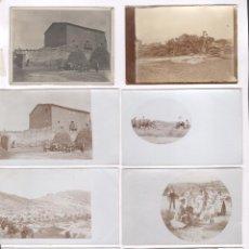 Fotografía antigua: IGUALADA, 8 FOTOGRAFÍAS 1900 APROX. FAMILIA CELESTINO MAS ABAD, POLÍTICO Y ESCRITOR.. Lote 98143055