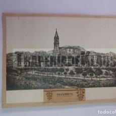 Fotografía antigua: FOTO DIBUJO DE NAVARRETE. PEGADO A UN CARTON Y AL DORSO INSCRIPCION FECHADA EN 1929. TDKP12. Lote 98643415