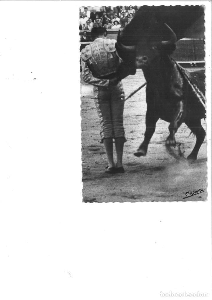 MIGUEL BAEZ LITRI: MANOLETINA. FOTOGRAFÍA DE CHAPRESTO (Fotografía Antigua - Tarjeta Postal)