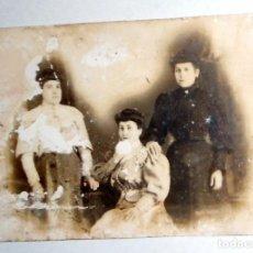 Fotografía antigua: FOTOGRAFIA POSTAL ANTIGUA. RETRATO MUJERES. NO CIRCULADA. Lote 98806899