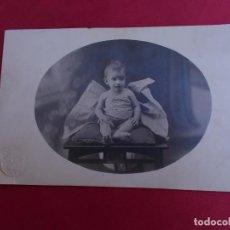 Fotografía antigua: ANTIGUA POSTAL FOTOGRAFICA. FOTOGRAFO FONTCUBERTA. PELAYO. BARCELONA. Lote 98987351