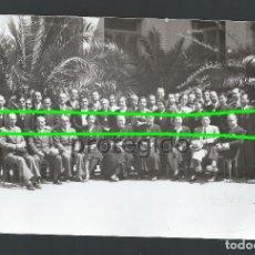 Fotografía antigua: PROFESORADO Y AUTORIDADES. COLEGIO SANTO CRISTO. CIEZA, MURCIA. FOTÓGRAFO DESCONOCIDO.. Lote 99295939