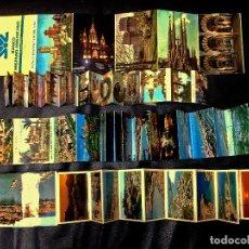 Fotografía antigua: LOTE DE 4 LIBRILLOS TIPO ACORDEON DE FOTOGRAFIAS TURISMOS AÑOS 60 Y 70 DE - IBIZA , MALLORCA , SANTI. Lote 99764447