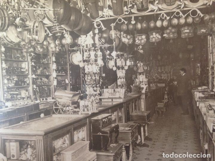 Fotografía antigua: ANTIGUA FOTOGRAFIA TARJETA POSTAL BAZAR MURCIANO CARTAGENA MURCIA - Foto 2 - 100068823